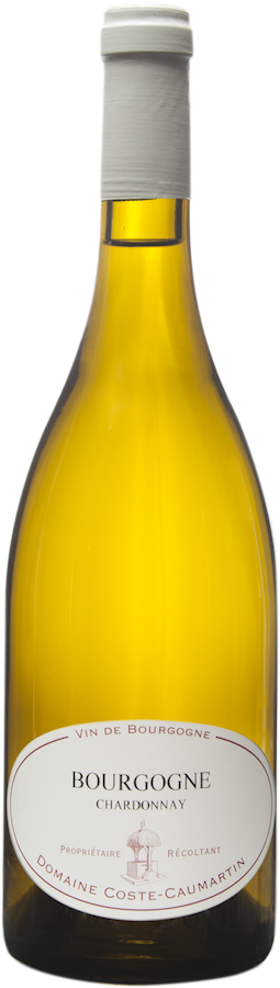 Bouteille de Bourgogne Chardonnay Coste Caumartin
