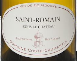Etiquette Saint Romain Sous le Chateau