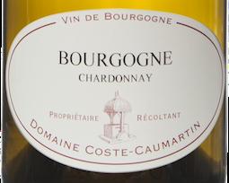 Etiquette Bourgogne Chardonnay