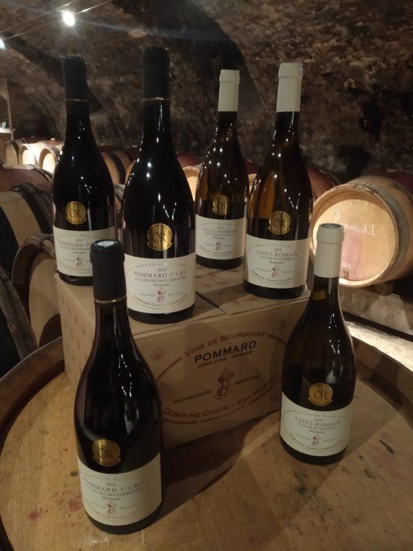 vente de vins de bourgogne de prestige départ cave